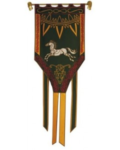 Lord of the Rings - Banni&egravere Eomer roi du Rohan