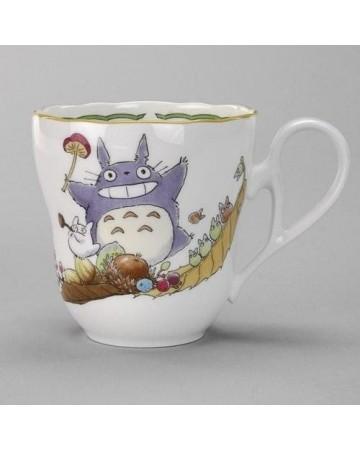Mon voisin Totoro - Tasse porcelaine Totoro & Champignon