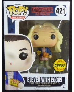 Stranger Things - Pop! - Eleven w/ Eggos CHASE