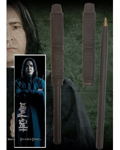 Harry Potter - Stylo baguette + marque-page Severus Snape (Rogue)