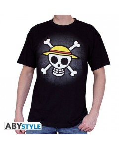 One Piece - T-Shirt Skull noir