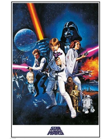 Star Wars - grand poster A New Hope