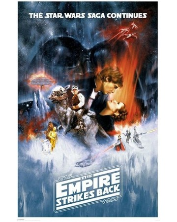Star Wars - grand poster The Empire Strikes Back (ESB)