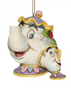 Disney - Traditions - Ornement de sapin Mrs Potts & Chip