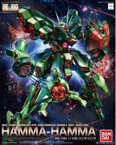 Gundam - 1/100 AMX-103 Hamma-Hamma (RE/100)