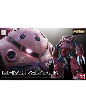 Gundam - RG 1/144 MSM-07S Char's Z'Gok