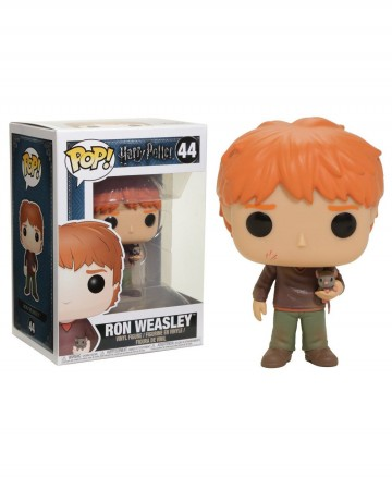 PRECO : Harry Potter - Pop! - Ron Weasley With Scabbers