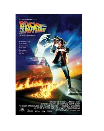 Retour vers le Futur - grand poster