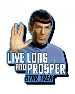 Star Trek - aimant Spock