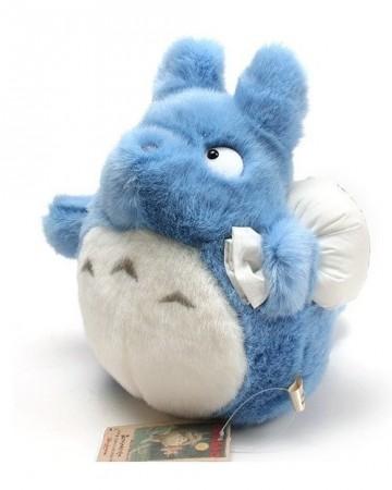 Mon voisin Totoro - peluche Totoro bleu et baluchon 25 cm