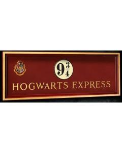 Harry Potter - Plaque Poudlard Express