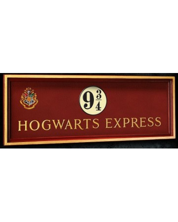 Harry Potter - Plaque Poudlard Express