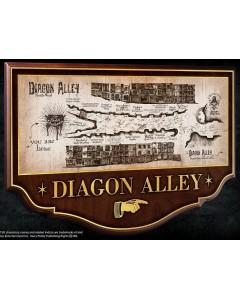 Harry Potter - Plaque Diagon Alley