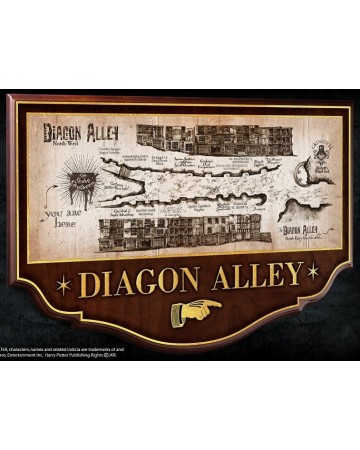 Harry Potter - Plaque Diagon Alley
