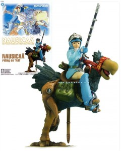 Nausicaa - Maquette Nausicaä riding on Kai