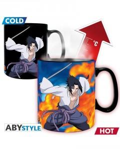 Naruto Shippuden - Mug thermo-réactif Duel Naruto vs Sasuke