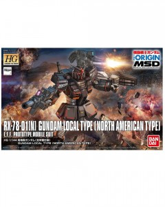 Gundam - HG 1/144 Local Type (North American Front)