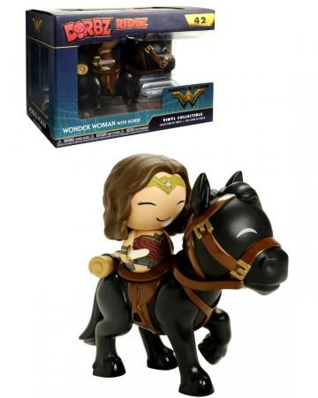 Wonder Woman - Dorbz Ridez - Figurine Wonder Woman w/ Horse