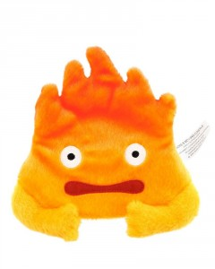 Howl's Moving Castle - Porte-monnaie peluche Calcifer