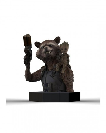 Guardians of the Galaxy - Buste Rocket Raccoon & Groot