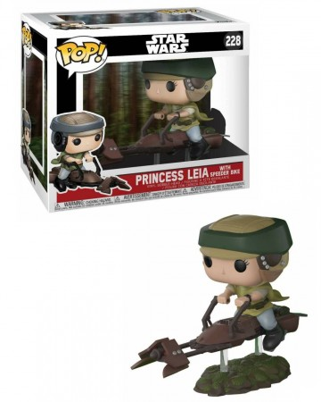Star Wars - Pop! - Leia w/ Speeder Bike