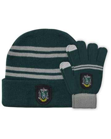Harry Potter - Bonnet + gants Slytherin (enfant)