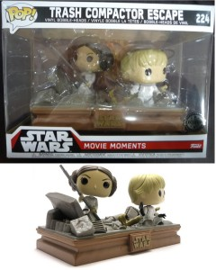 Star Wars - Pop! - Movie Moments - Luke & Leia Trash Compactor
