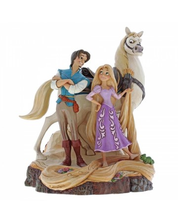 Disney - Traditions - Rapunzel Live Your Dream ((Carved by Heart Tangled)
