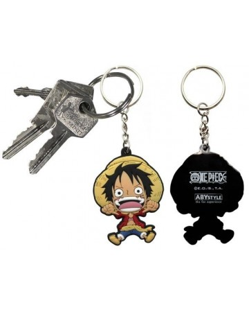 One Piece - porte-clé PVC Luffy SD