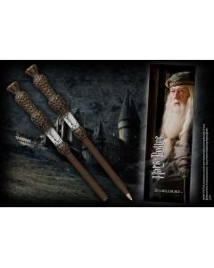 Harry Potter - Stylo baguette + marque-page Dumbledore
