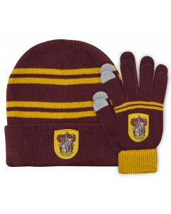 Harry Potter - Bonnet + gants Gryffindor (enfant)
