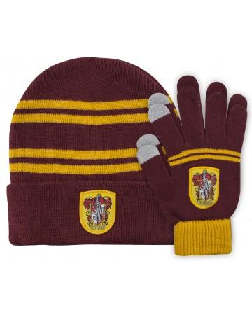 Harry Potter - Bonnet + gants Gryffindor (enfant)