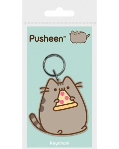 Pusheen - Porte-clé PVC Pizza