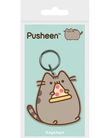 Pusheen - Porte-clé PVC Pizza