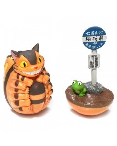 Mon voisin Totoro - Figurines 2-Pack Culbuto Chatbus
