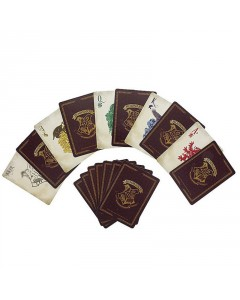 Harry Potter - Jeu de cartes Hogwarts boîte métal V2