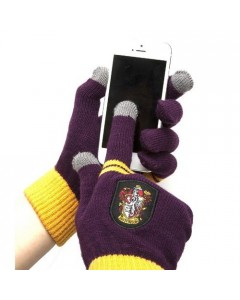 Harry Potter - gants tactiles Gryffondor