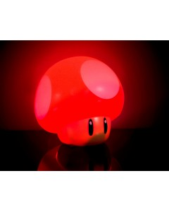 Mario - Lampe d'ambiance sonore Champignon Rouge