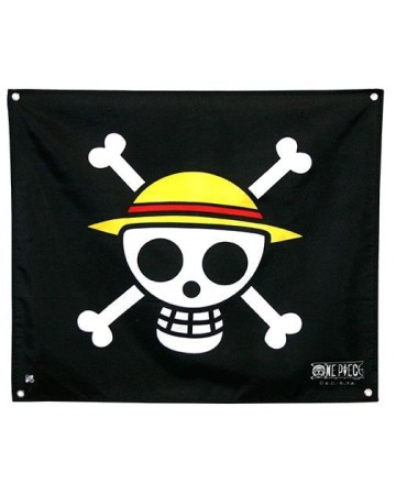 One Piece - Drapeau Jolly Roger (Skull Luffy) 50 x 60 cm