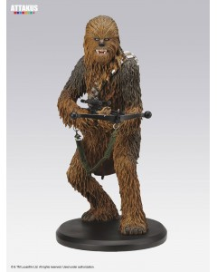 Star Wars - Attakus - Statue Elite - Chewbacca 22 cm