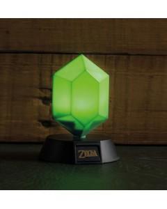 Zelda - Lampe 3D Green Rupee 10 cm