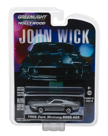 John Wick - 1/64 1969 Ford Mustang BOSS 429