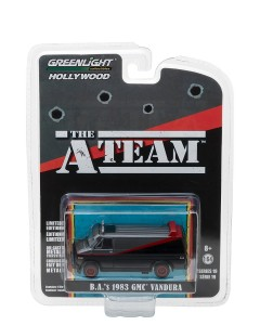 The A-Team - 1/64 1983 GMC Vandura
