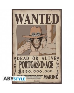 One Piece - poster Wanted Ace