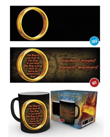 Lord of the Rings - Mug thermo-réactif Anneau Unique