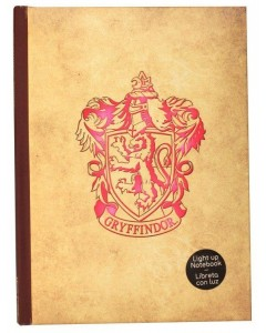 Harry Potter - Carnet lumineux Gryffindor