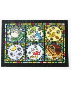 Mon voisin Totoro - Puzzle Art Crystal Totoro et ses amis 208 pièces