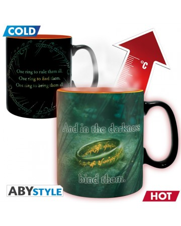 Lord of the Rings - Mug thermo-réactif Sauron