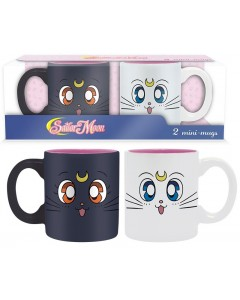 Sailor Moon - Set de 2 tasses Artemis & Luna