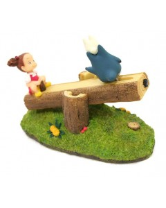 Mon Voisin Totoro - diorama balancoire